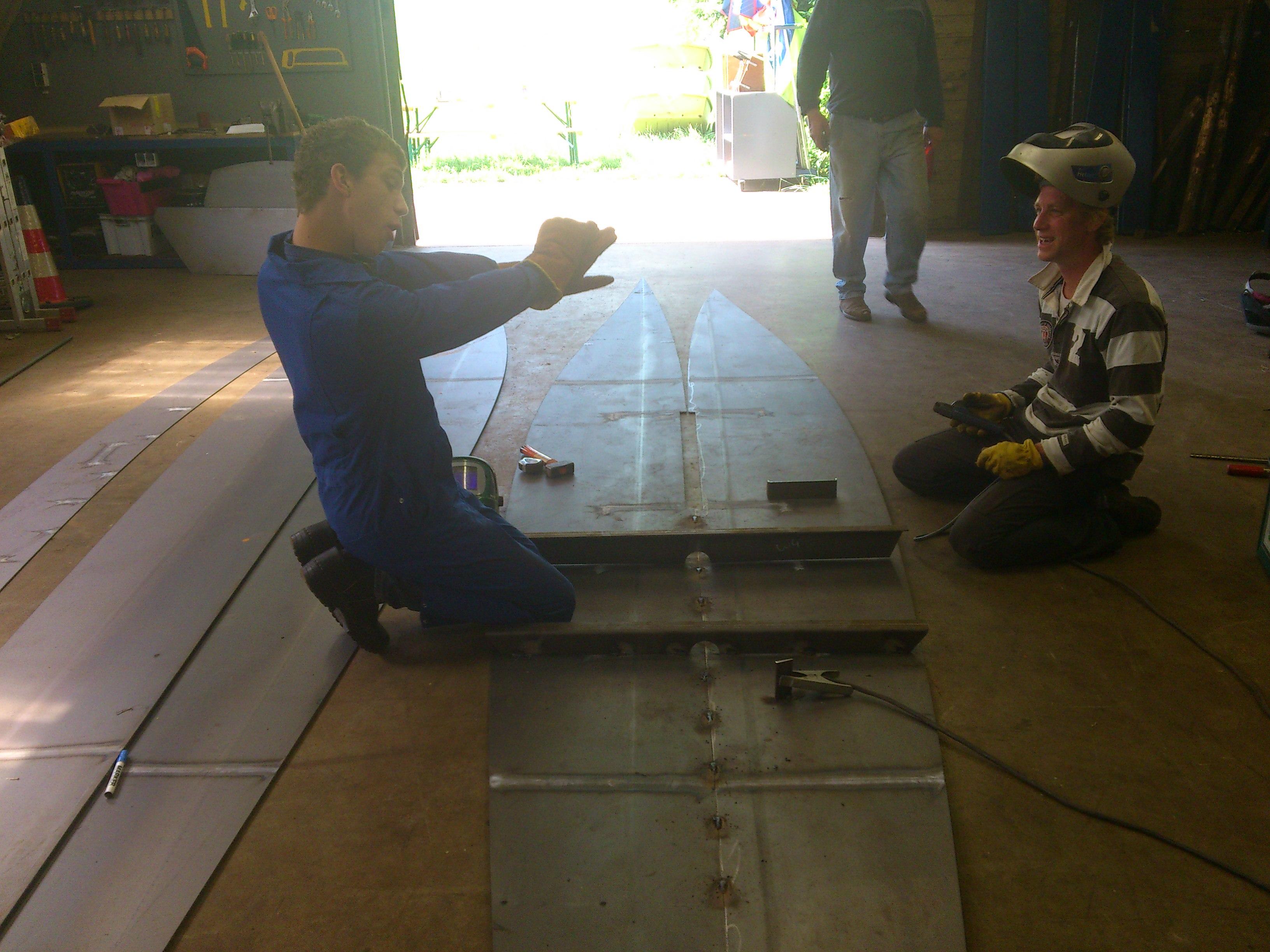 Lelievlet scouting zelfbouw